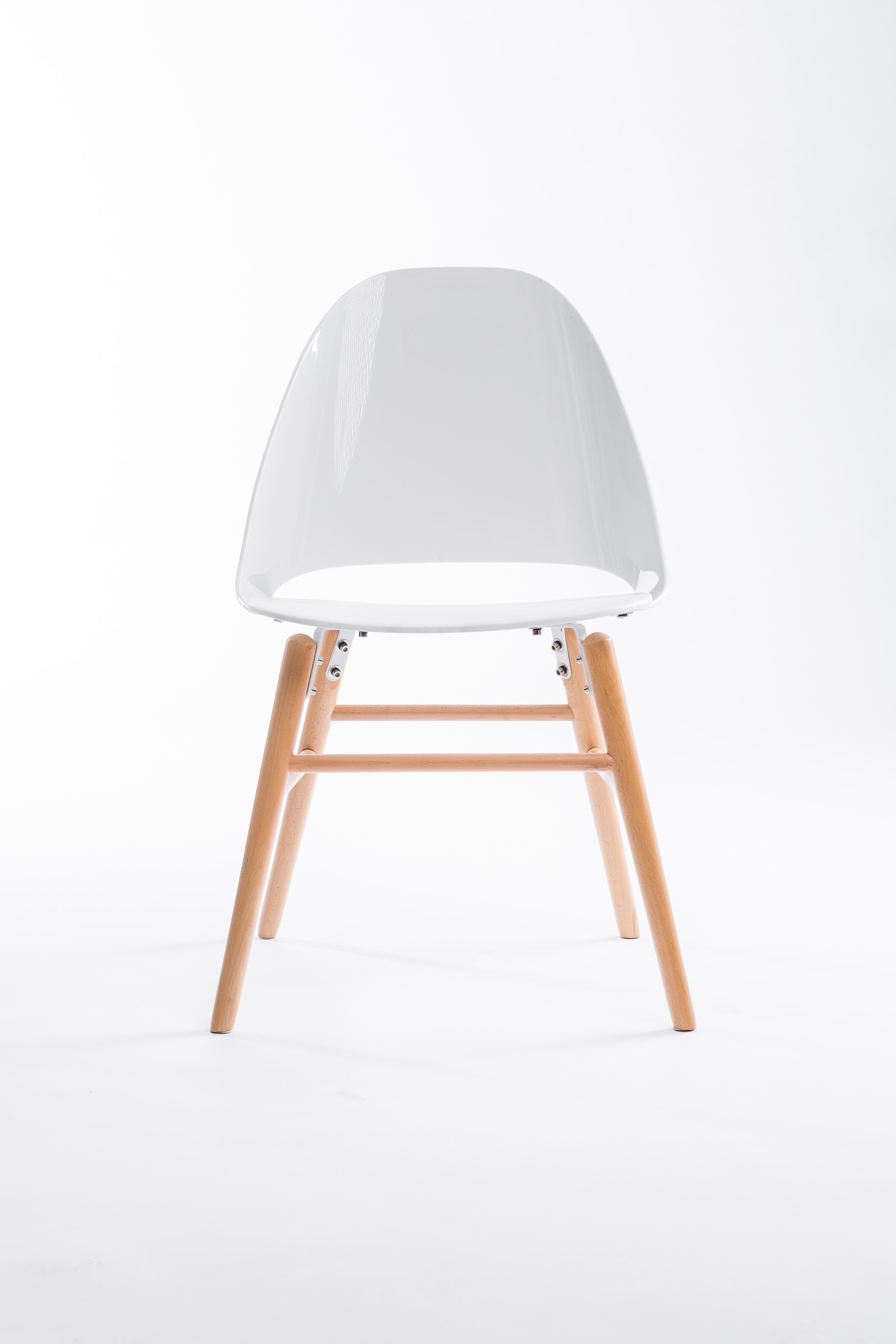 Sedia Copenhagen Bianca By Unico Milano - Restylit Shop