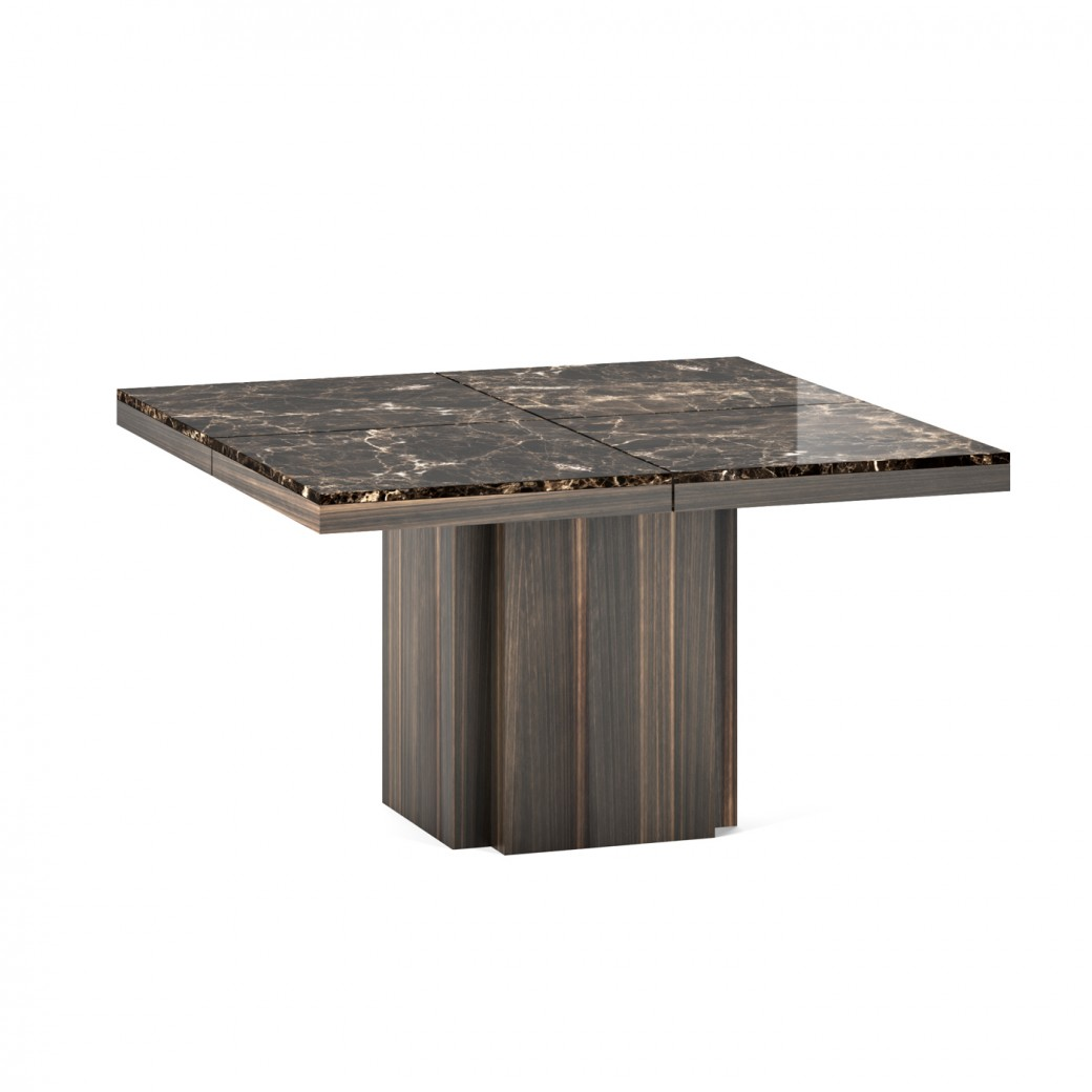 Dusk Marble Dining Table 130x130 Cm By Temahome